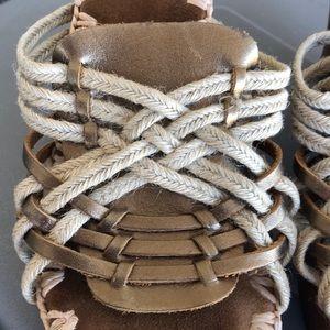 Sam Edelman Shoes - Sam Edelman sz 8.5 wooden heels with leather upper